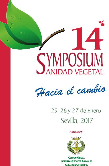 14º Symposium de Sanidad Vegetal / Sevilla / 25-27 enero 2017
