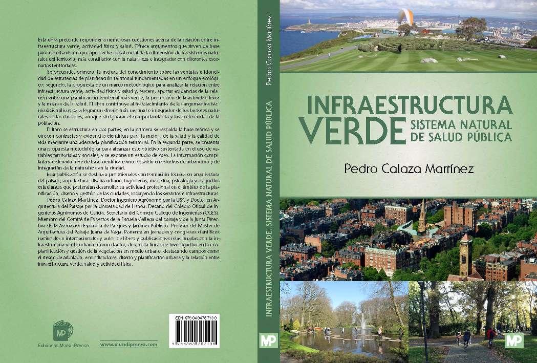 """Publicación del libro """"Infraestructura verde. Sistema natural de salud pública"""""""