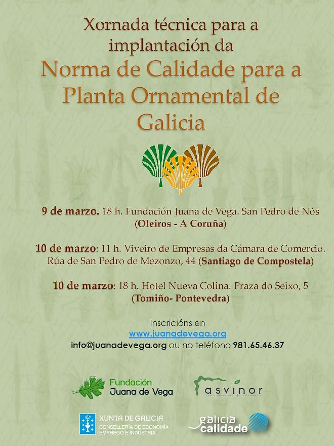 Jornada Técnica: Implantación de la Norma de Calidad para la Planta Ornamental de Galicia