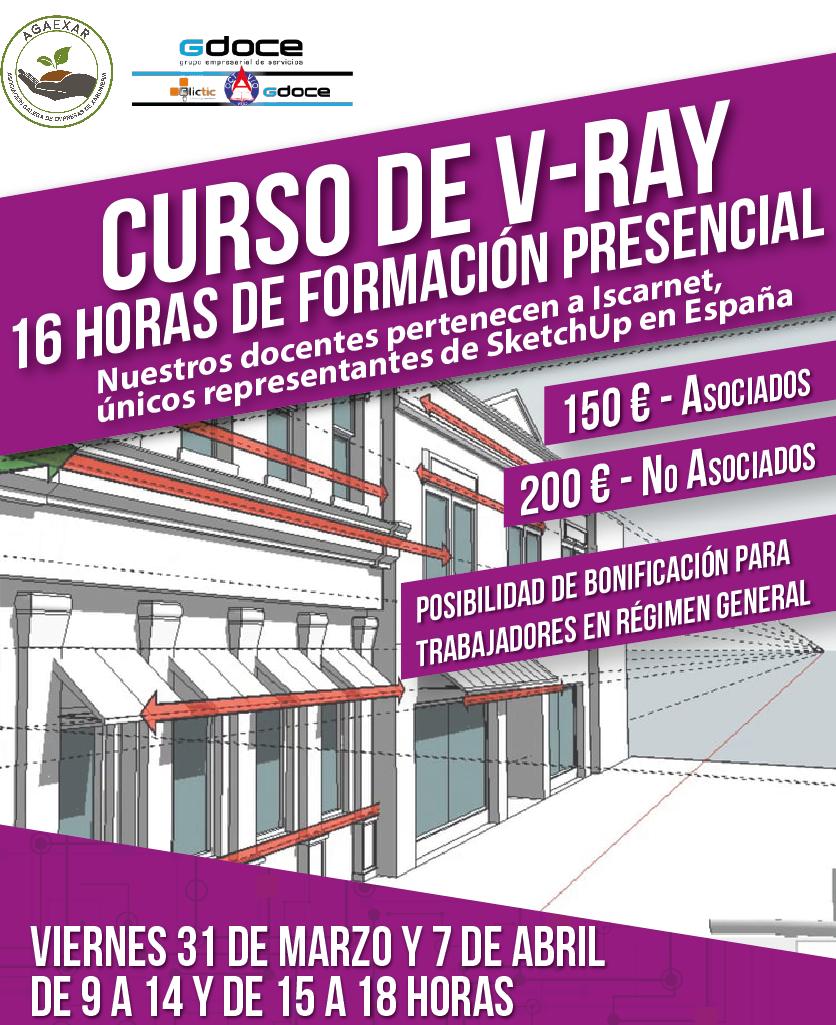 Curso de fotorrealismo con V-Ray / marzo-abril2017