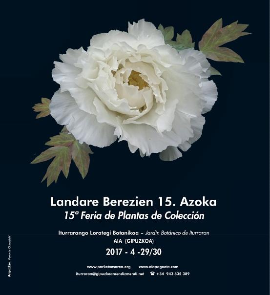 15ª Feria de Plantas de Colección en el Jardín Botánico de Iturraran