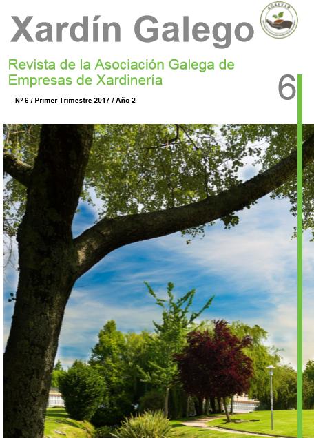 """Nº 6 de la revista """"Xardín Galego"""""""