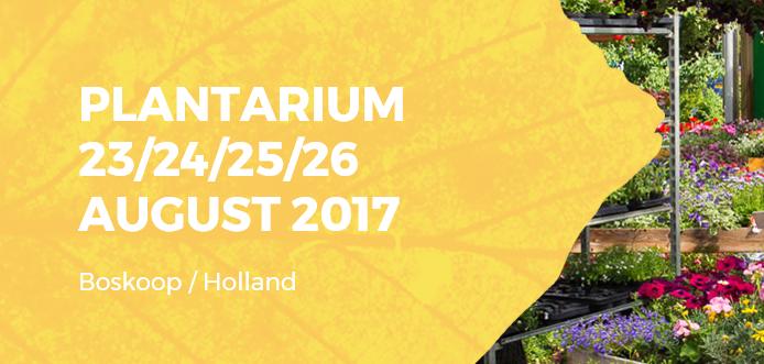 Salón Internacional del Viverismo Plantarium 2017 – Países Bajos