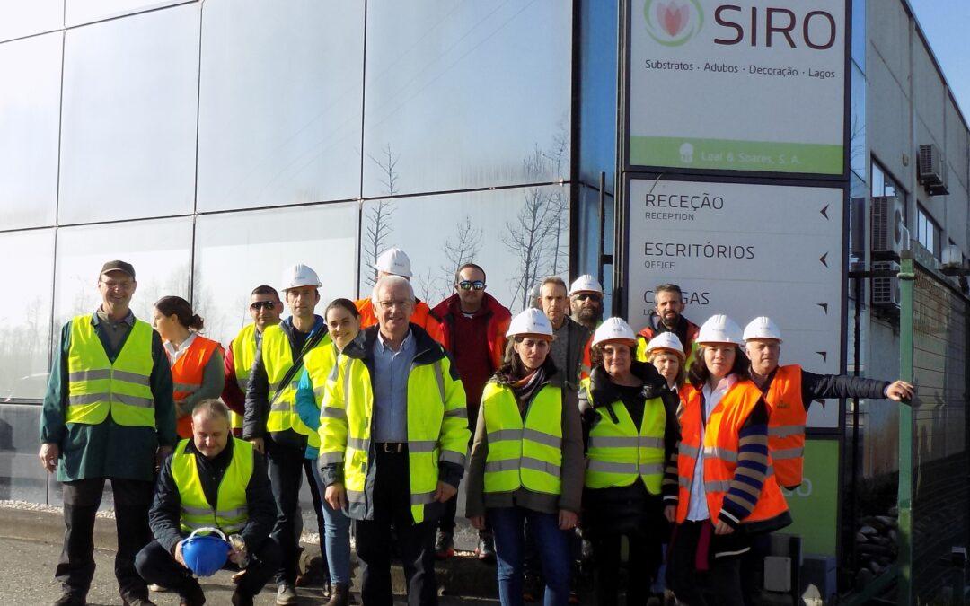 Agaexar visitó las instalaciones de Siro en Portugal