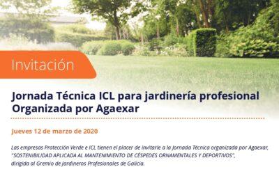 Jornada técnica sobre 'Sostenibilidad aplicada al mantenimiento de céspedes ornamentales y deportivos'